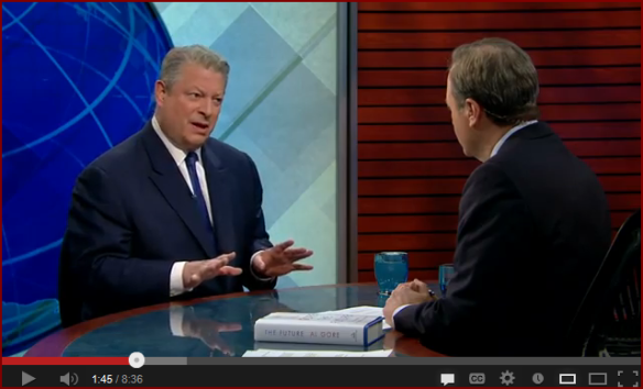 Al Gore on PBS NewsHour