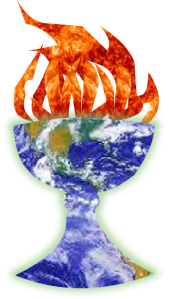 flaming chalice