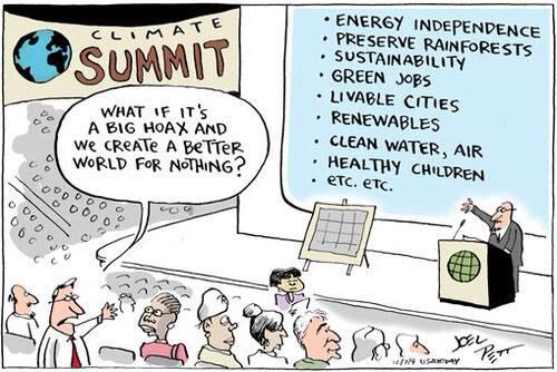 Joel Pett climate cartoon