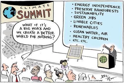 Joel Pett climate cartoon