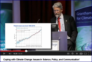 John Holdren's talk