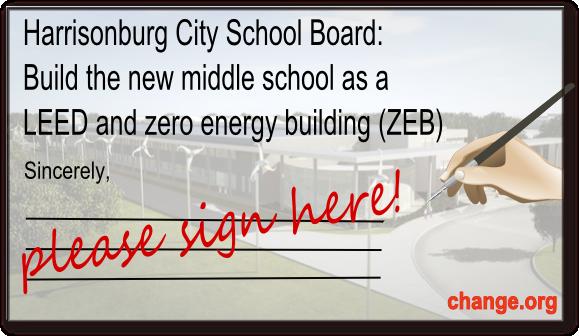 change.org school petition