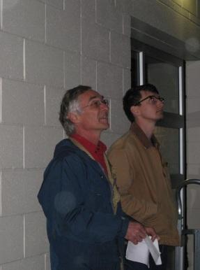Tom with Vine & Fig intern Jordan Luther