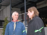 Tom with Pete Bsumek of the Sierra Club