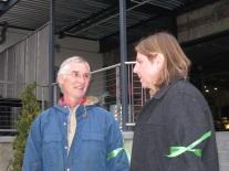 Tom with Pete Bsumek of the Sierra Club