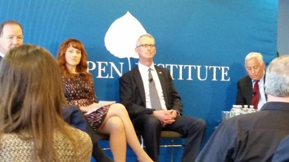 Panel at Aspen Institute