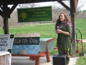 Rosie Lynch masterfully emceed the afternoon's activities.