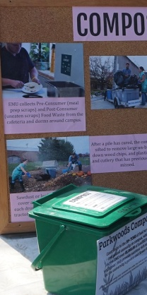 EMU hosts a robust composting operation.